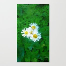 The Poet's Darling Canvas Print