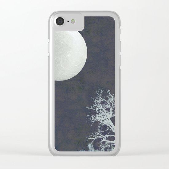 With that Moon Language Clear iPhone Case