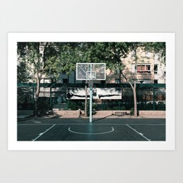 Paris Jordan Playground Art Print