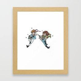 Battle Tendency Framed Art Print