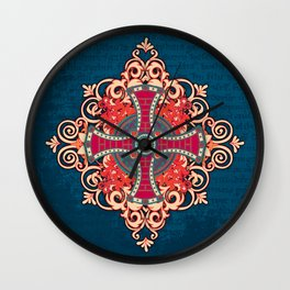 Noble House III Wall Clock