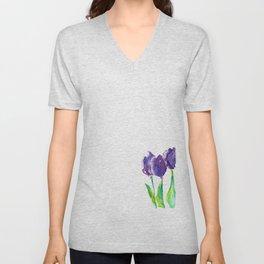 flower X Unisex V-Neck