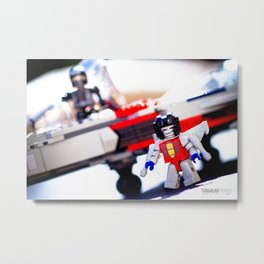 Kre-o Transformers Metal Print