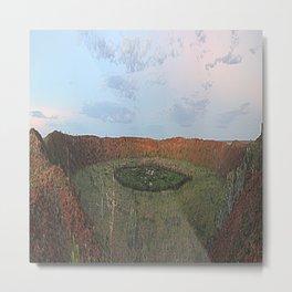 Wolf Creek Crater Metal Print