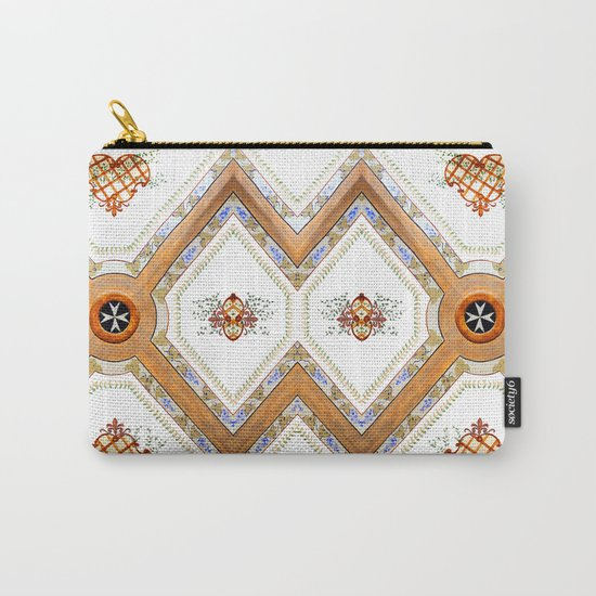A Glass Ceiling Carry-All Pouch