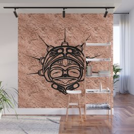 Ink Frog Copper Wall Mural