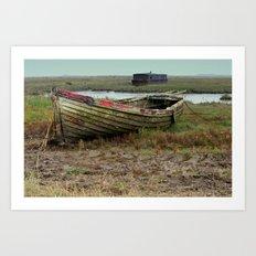 Old Boats Art Print