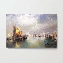 The Splendor of Venice, Italy landscape painting by Thomas Moran Metal Print