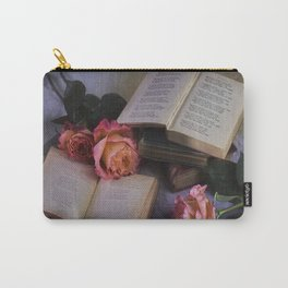 Romantic Reading Carry-All Pouch