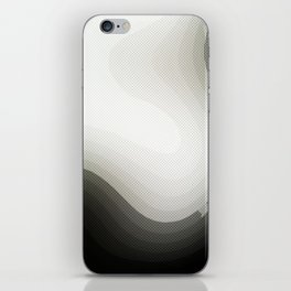 Edged Out iPhone Skin