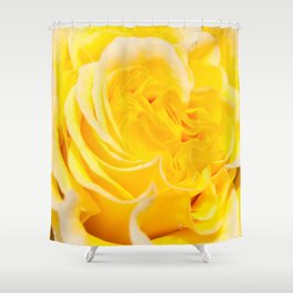 A Touch of Yellow #Rose #1 #art #society6 Shower Curtain