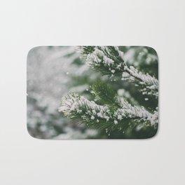 Snowy Branches Bath Mat