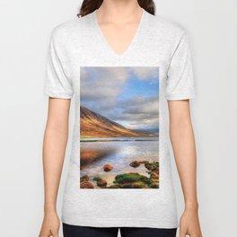 Loch Etive Unisex V-Neck