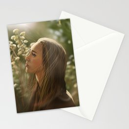 Alycia Debnam carey Stationery Cards