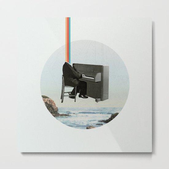 Pianocean Metal Print