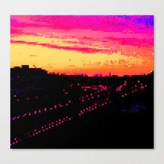 Train City Canvas Print