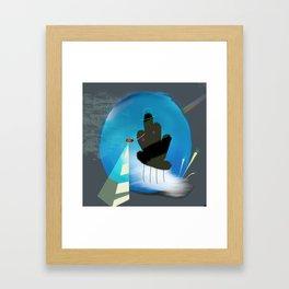 Searching Framed Art Print