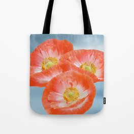 The beauty of poppies Tote Bag