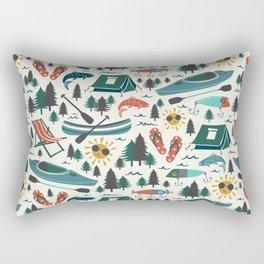 Lake Life - Summer Ivory Rectangular Pillow