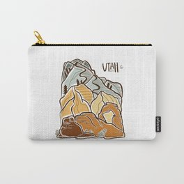Utah illustration Carry-All Pouch