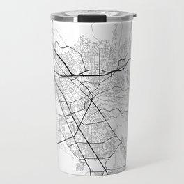 Minimal City Maps - Map Of Hayward, California, United States Travel Mug