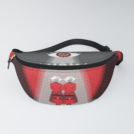 The Wall - The Red Handmaid Collection by ©2018 Balbusso Twins Fanny Pack