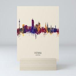 Vienna Austria Skyline Mini Art Print