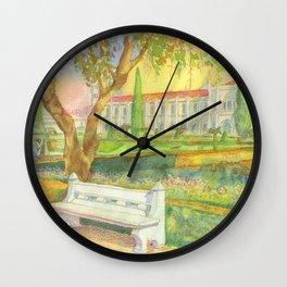 garden. jardim Wall Clock