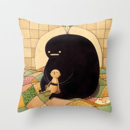 Fo Free Throw Pillow