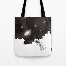 SOLVING THE BIG PUZZLE Tote Bag