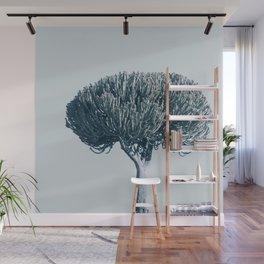 Monochrome - Candelabra tree Wall Mural