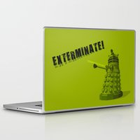 dalek Laptop & iPad Skins featuring Dalek by Digital Arts & Crafts by eXistenZ