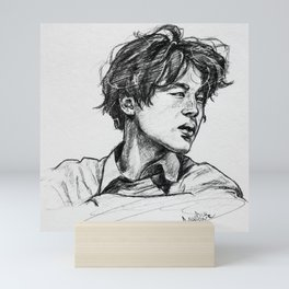 Jimin Mini Art Print