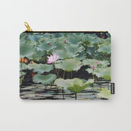 SUMMER LOTUS I Carry-All Pouch