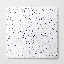 Drops of paint Metal Print
