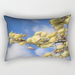 Yellow Blooms Rectangular Pillow