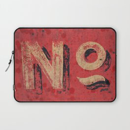 No non Red Laptop Sleeve
