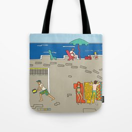 Afternoon at the beach (a) Tote Bag