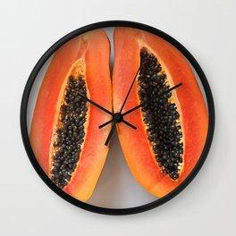 Papaya II Wall Clock