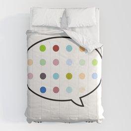 Damien Hirst, outspoken again! Comforters