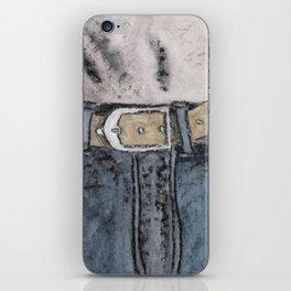 Blue jeans iPhone Skin