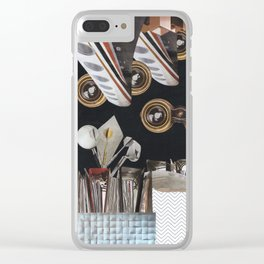 Here's Looking at You Clear iPhone Case