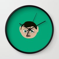 frank Wall Clocks featuring frank by 21871