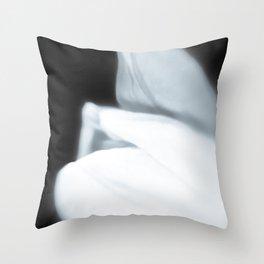 Caressing spring Throw Pillow