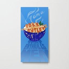 Pork Cutlet Bowl Fatale Metal Print