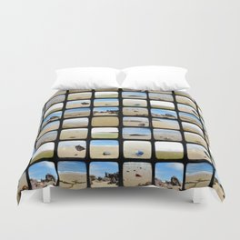Beach Collective - Through The Viewfinder (TTV) Duvet Cover