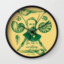 20,000 Leagues Under The Sea Wall Clock