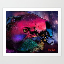 Big Boxer Art Print