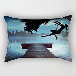 Lake Rectangular Pillow