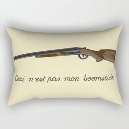 This is not my Boomstick Rectangular Pillow